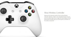 This photo explains the added benefits of the new Xbox One S controllers.