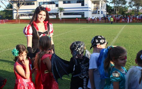 Halloween Parade Happily Haunts Campus