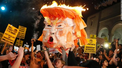 Thousands Come Out in Force to Protest President-Elect Trump