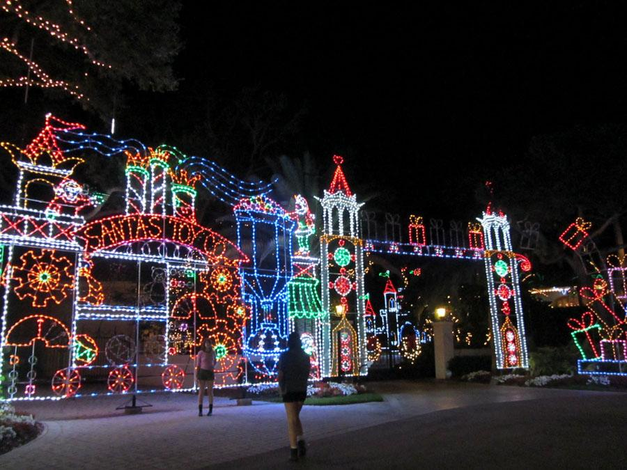 Local residents are excited that the holiday lights within Snug Harbor Estates is back this year.
