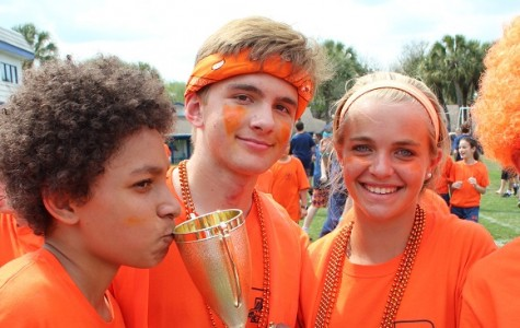 Orange Team Takes Field Day Trophy