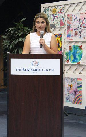 Sophie Rabiei talks about her journey through middle school.