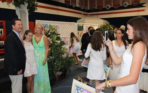 Eighth-Grade Banquet Honors Past and Present