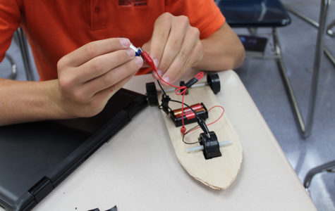 Students Learn About Solar Energy Via Car Creations