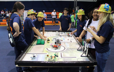 Middle School Hosts First Lego League Competition