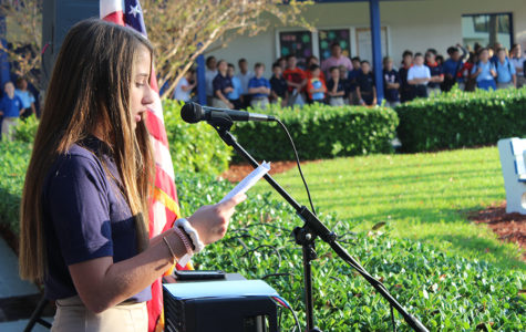 Middle School Remembers 9/11