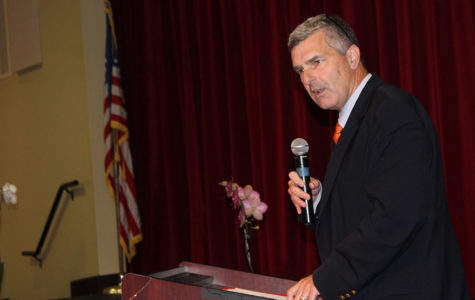 Mr. Carr Featured Speaker at Honor Code Assembly