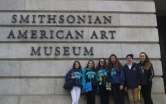 Eighth Graders Enjoy Washington Despite Wet Weather