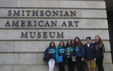 Eighth Graders Enjoy Washington Despite Wet Weather