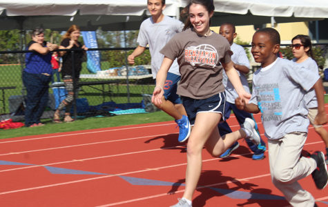 Eighth Graders Serve Fellow Students at Friendship Games