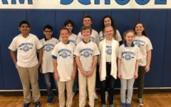 MATHCOUNTS Team Qualifies for State Competition