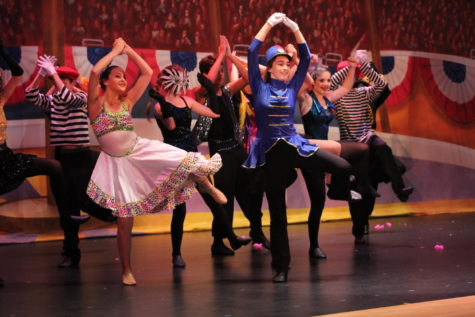 Variety Show Allows Students and Teacher to Shine on Stage