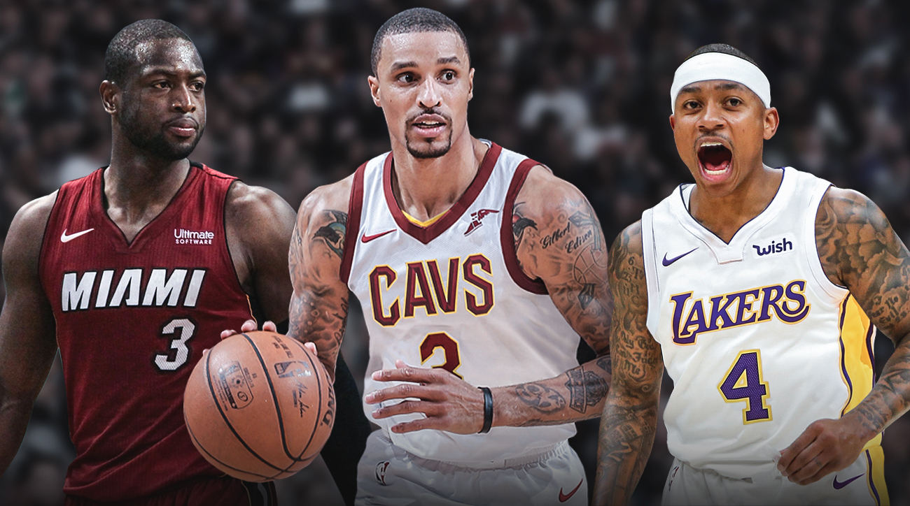 Dwayne Wade is now back home in Miami,  George Hill was traded to Cleveland, and Isaiah Thomas is with the Lakers.