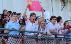 Middle School Gets Involved in Lower School Olympics