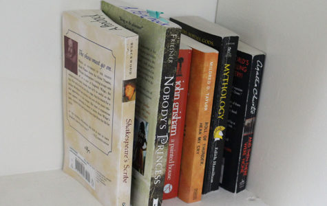 Each middle school student had to read two novels this summer for English class.