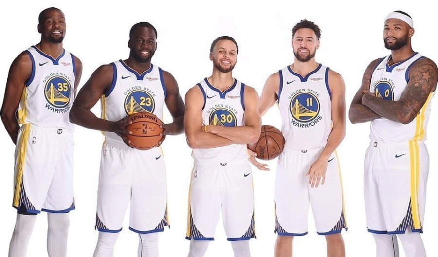 The Golden State Warriors are the favorites to hoist the Larry OBrien trophy once again this year.