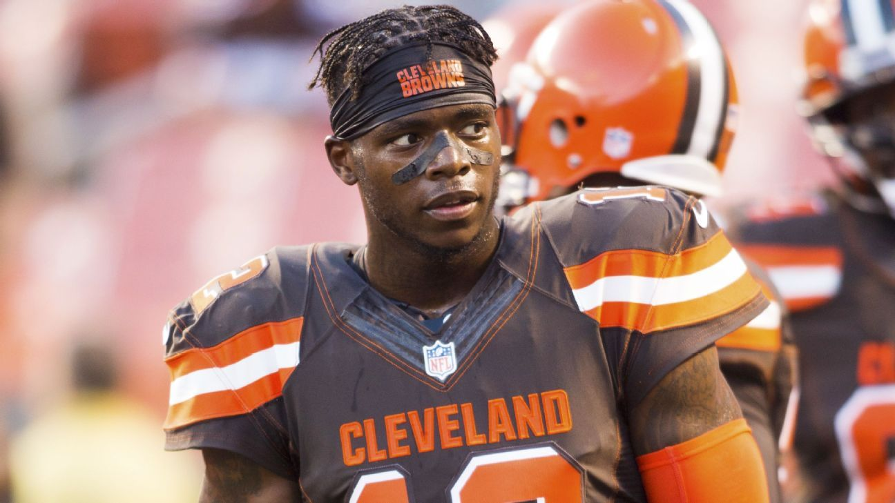 Josh Gordon, the former Cleveland Brown wideout, is now enjoying his time in New England.