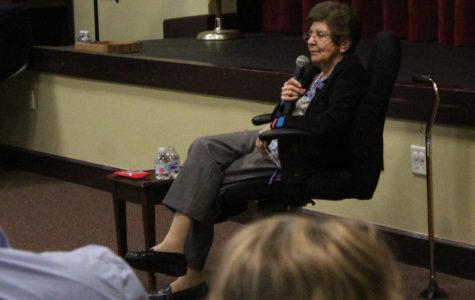 Holocaust Survivor Rena Ferber Finder Visits TBS