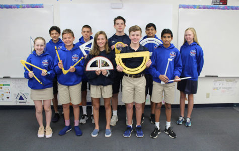 MATHCOUNTS Team Has Strong Showing at County Competition