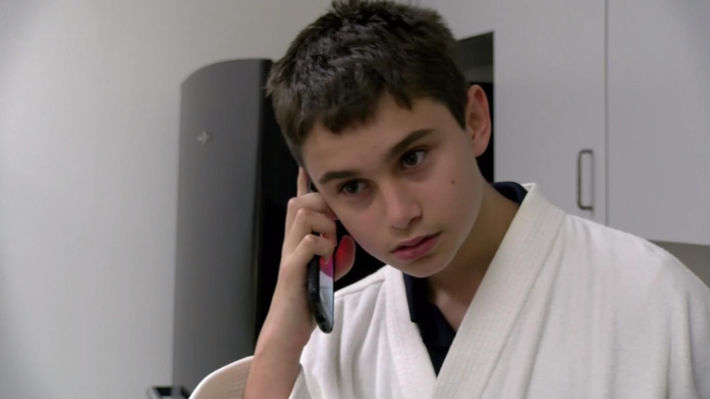 Antonio Gambino stars in TBS News' Genius Water commercial.