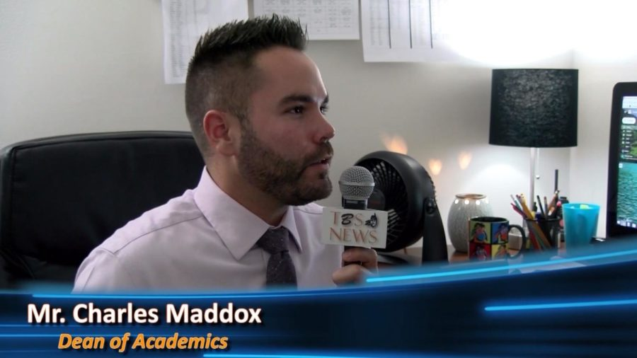 Mr.+Maddox+talks+about+the+benefits+of+the+new+Maglio+Family+STEM+Center.
