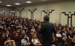 "Author of ""Peter and the Starcatchers"" Visits TBS"