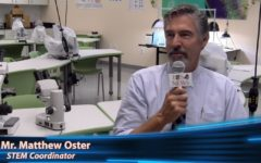 Mr. Oster talks about the plans for the new Maglio Family STEM Center this year.