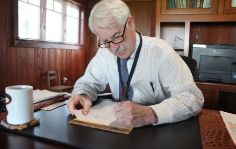 Mr. Reid Making the Most of His Time as Interim Head of School