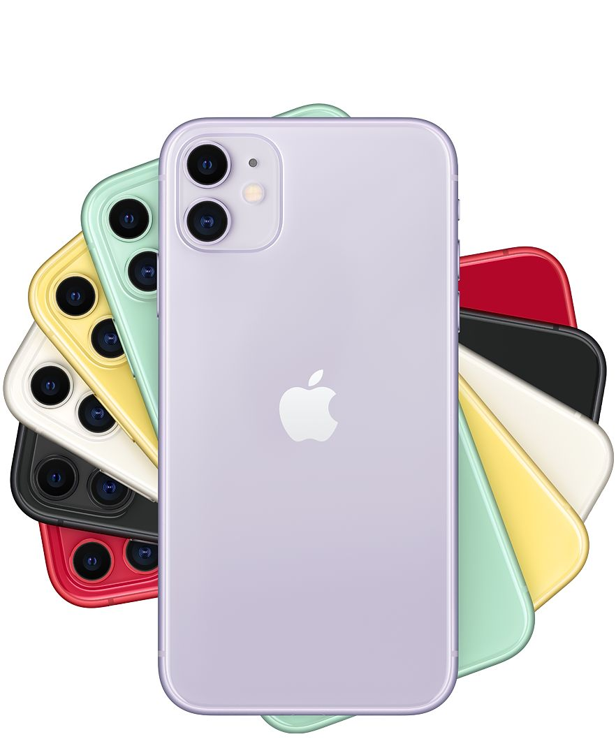 The iPhone 11 (normal version) comes in various colors at the price of $699.