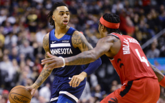 Point guard D'Angelo Russell has been paired up with his good friend Karl-Anthony Towns on the Minnesota Timberwolves, making them a very fun duo to watch.