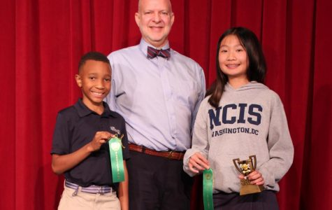 Claire Dinh Wins Middle School Spelling Bee
