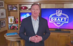NFL Commissioner Roger Goodell hosted this year