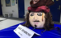 Ms. Latimer's group won the sixth-grade competition with a very impressive rendition of Jack Sparrow from the