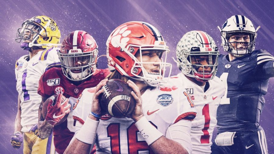 Ja'Marr Chase, Devonta Smith, Trevor Lawrence, Justin Fields, and Zach Wilson are hoping to make a big splash in this year's NFL Draft and take the next step in their football careers.