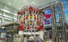China's HL-2M Tokamak, the artificial sun, rests in Chengdu in Southwest China's Sichuan Province.