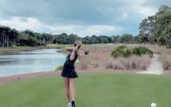 Golfer Gabriella Degasperis Breaks the School Record