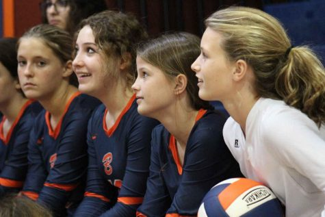Two Sixth Graders Find Success on Volleyball Team
